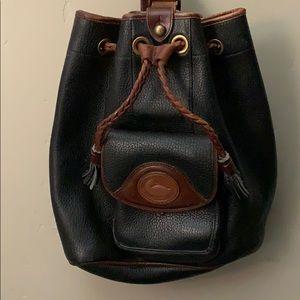 Vintage made USA Dooney & Bourke backpack